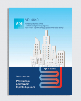 VDI 4640, Deo II:2001-09 - Postrojenja podzemnih toplotnih pumpi