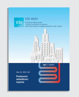 VDI 4640, Deo III:2001-06 - Podzemni skladišnici toplote