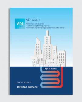 VDI 4640, Deo IV:2004-09 - Direktna primena