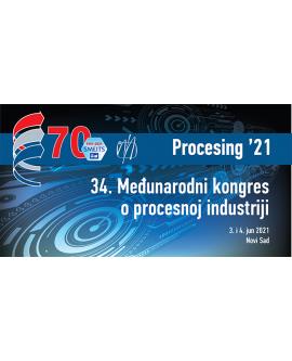 Kotizacija za 34. Međunarodni kongres o procesnoj industriji